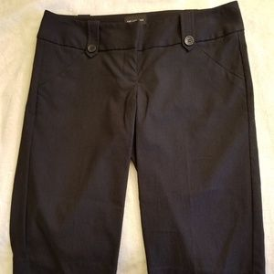 The Limited Black Dress Capris-Sz 4-NWOT-MSRP-$80